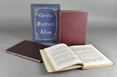 Musical Sammelband, an arrangement of 19th Century sheet music, including a 'Musical Home Journal'