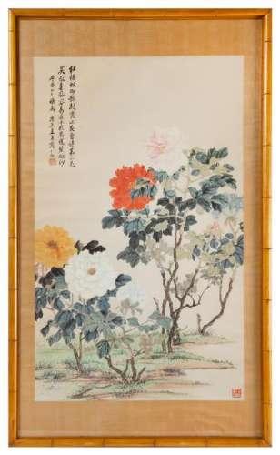 * Shang Yanzhi, (1869-1963), Peonies