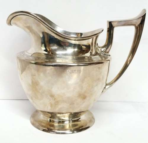 Durgin Antique Sterling Silver Water Pitcher Large