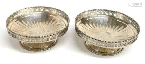 Goldsmiths Silversmiths Sterling Silver Antique Compote