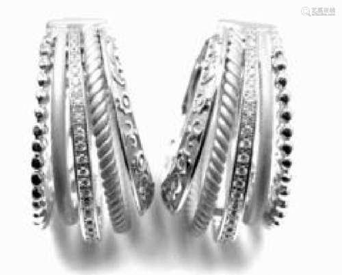 Carrera Y Carrera Melodia 18k White Gold Diamond