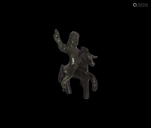 Iron Age Celtic Horse and Rider Statuette