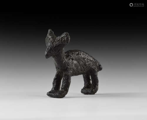 Iron Age Celtic Animal Statuette