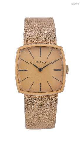 Berkley, Ref. 19809 carat gold bracelet watch