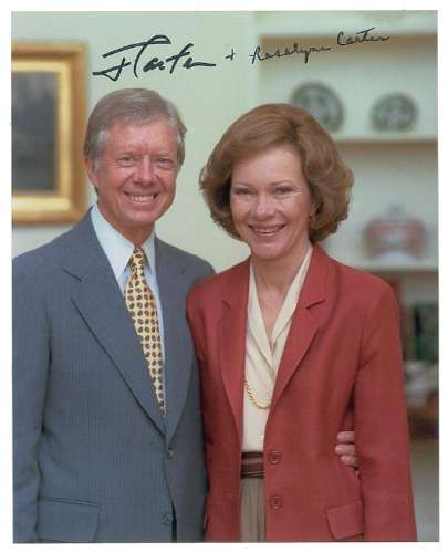 Jimmy and Rosalynn Carter