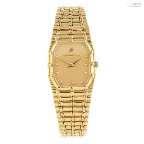 AUDEMARS PIGUET - a lady's bracelet watch.