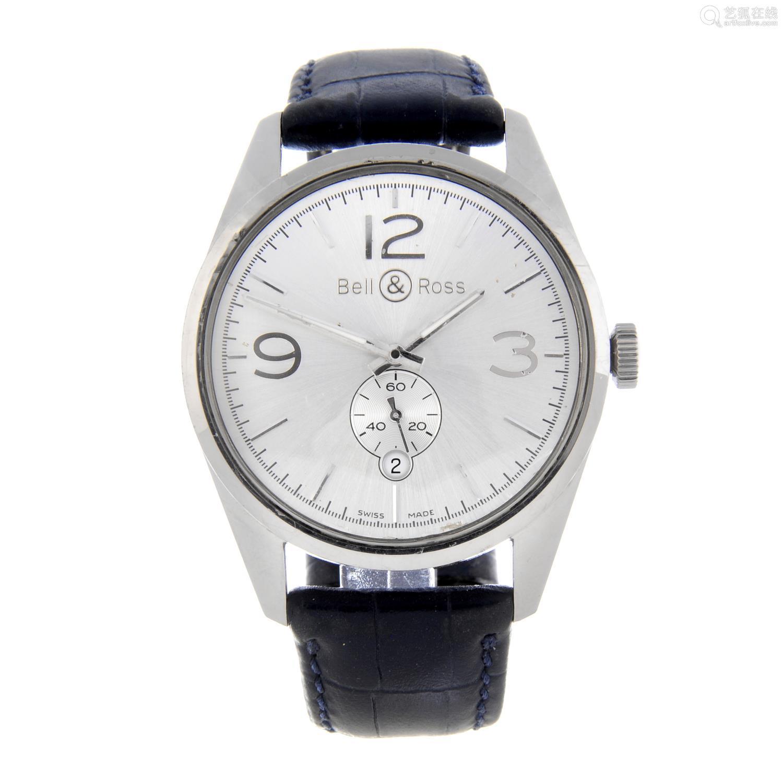 BELL & ROSS - a gentleman's Vintage wrist watch.