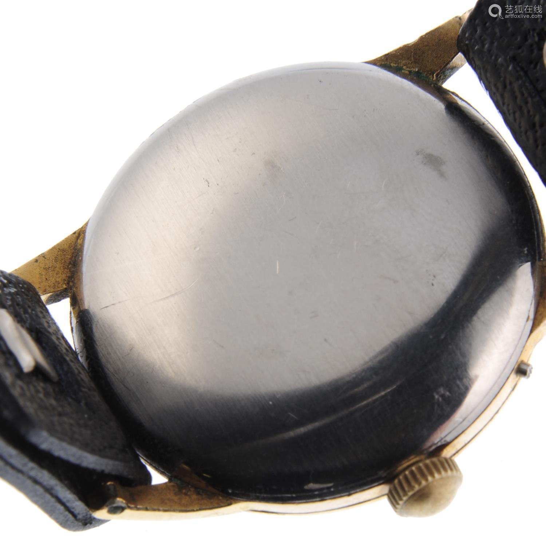 MOVADO - a gentleman's wrist watch.