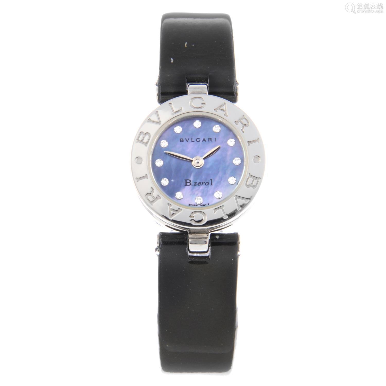 BULGARI - a lady's B.zero1 wrist watch.