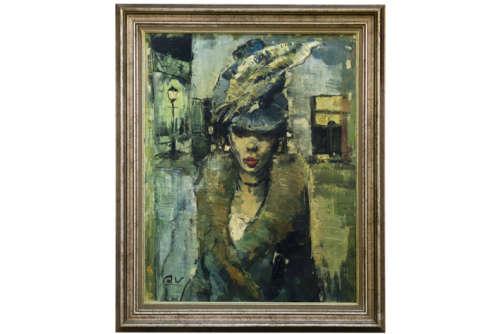WAUTERS ALEX (1899 - 1965) olieverfschilderij op doek :