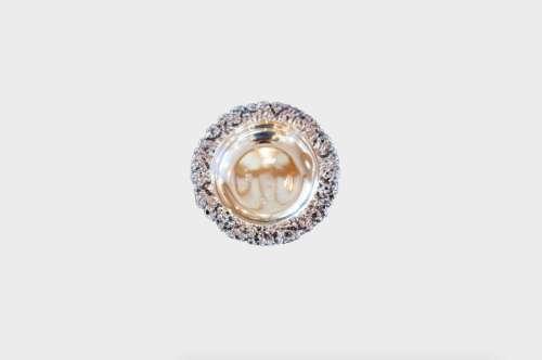 CAST SILVER COASTER CHRISTOFLE 银器