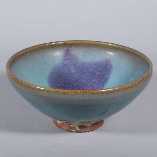 A Chinese Jun-Type Porcelain Bowl
