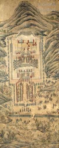 Corée, période Choson, XVIIIe siècle Probablement …