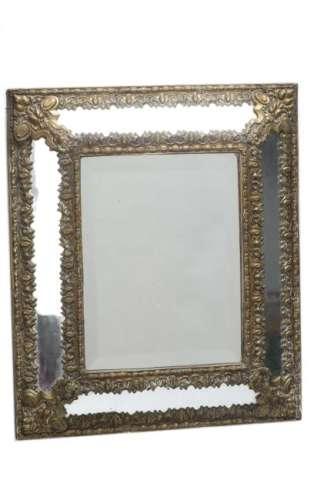 Miroir rectangulaire à parcloses
