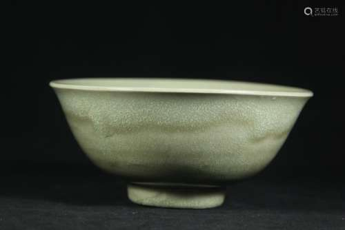 A LONGQUAN CELADON-GLAZED BOWL.ANTIQUE