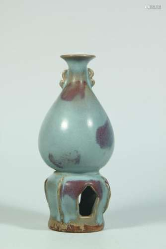 A JUNYAO VASE.ANTIQUE