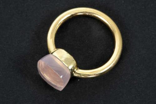 POMELLATO ring in roos goud (18 karaat) bezet met een fluoriet getekend - - [...]