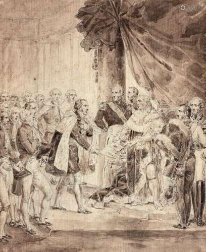 Attribué à Nicolas André MONSIAU (1754 1837)
