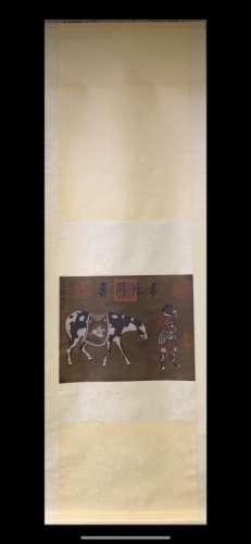ANONYMOUS (宋,元 绢本)HANGING
