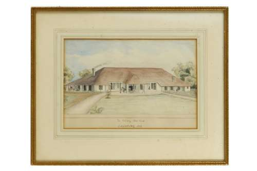THE ARTILLERY MESS HOUSE AT CAWNPORE Company School,