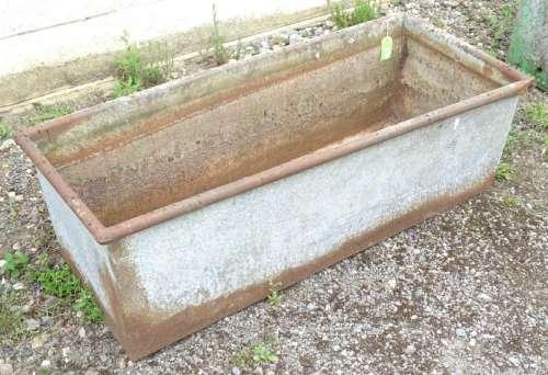 Garden and Architectural Salvage: a circa 1910 trough,